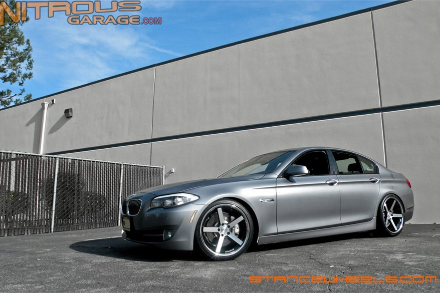 BMW F10   SC-5 Black Machine