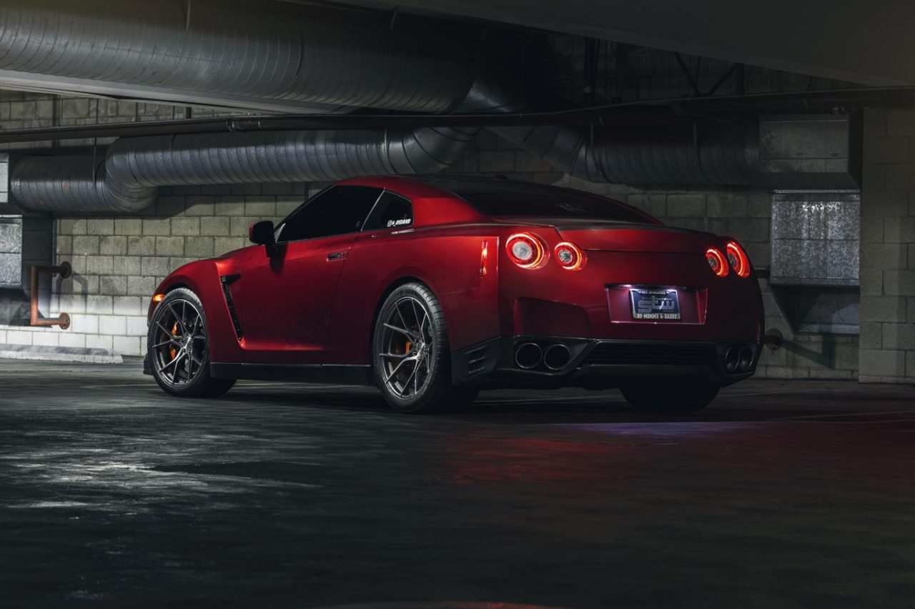 Nissan GT-R   Stance SF07