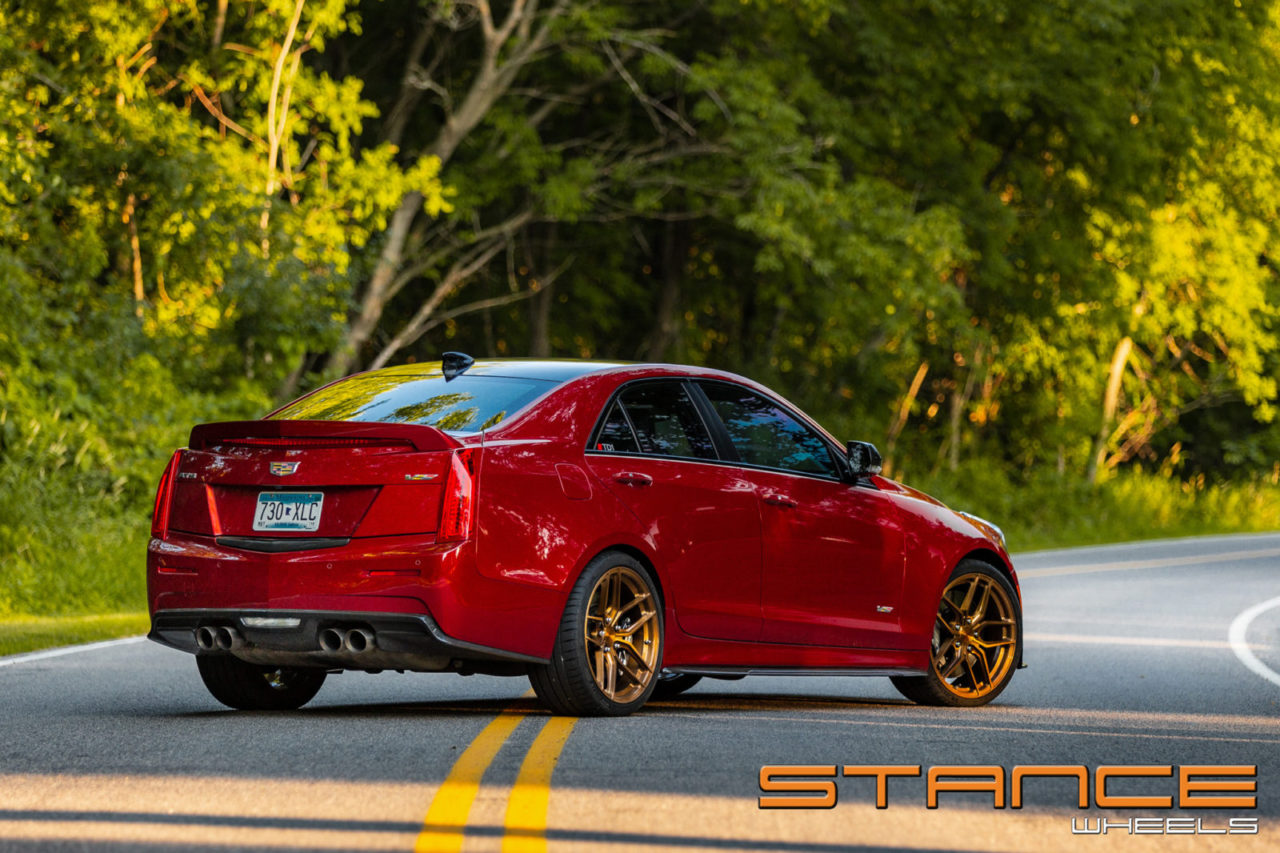 Cadillac Ats V >> Cadillac ATS V | SF03 – Stance Wheels