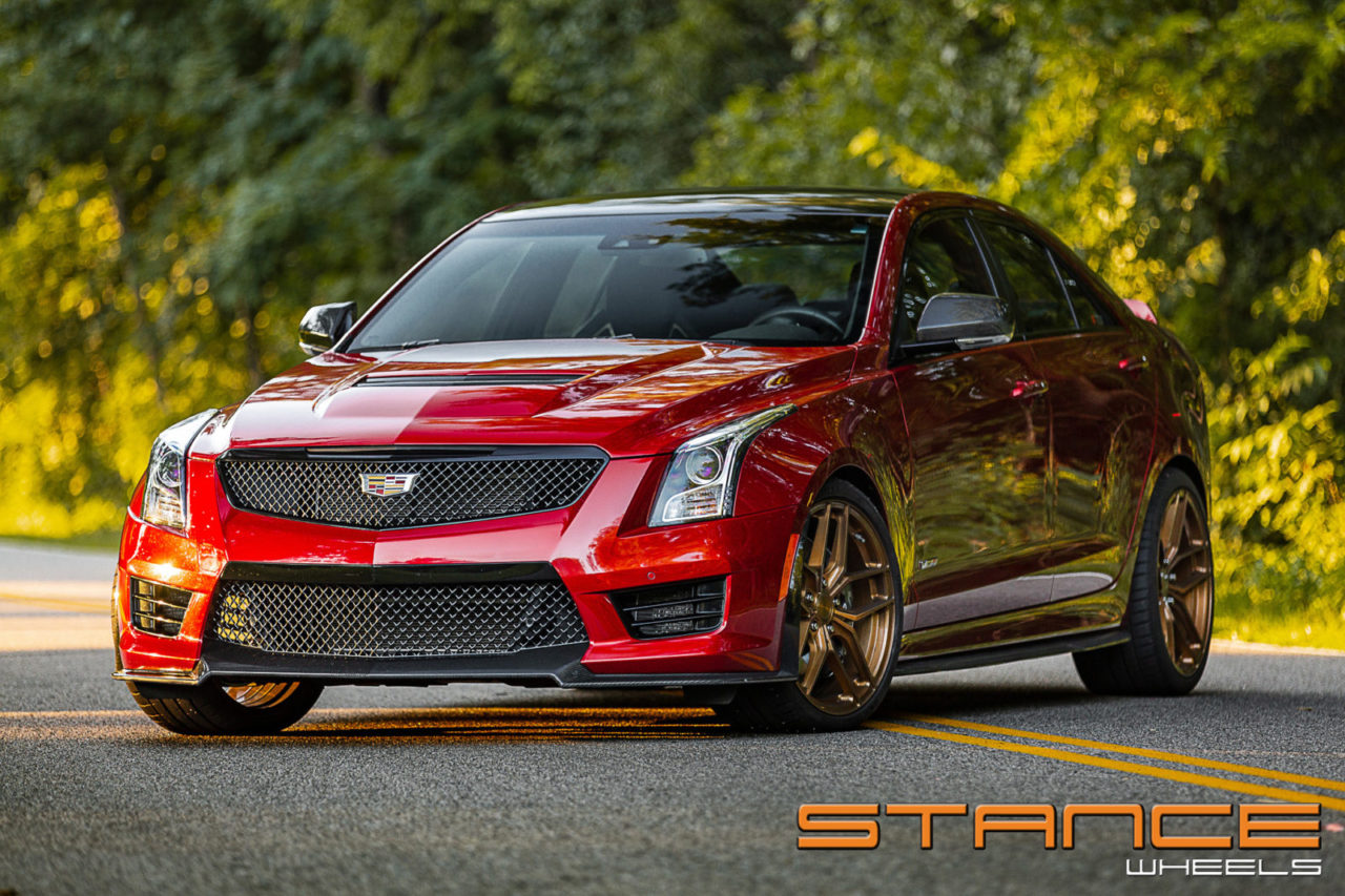 Ats Vs Cts >> Cadillac ATS V | SF03 – Stance Wheels