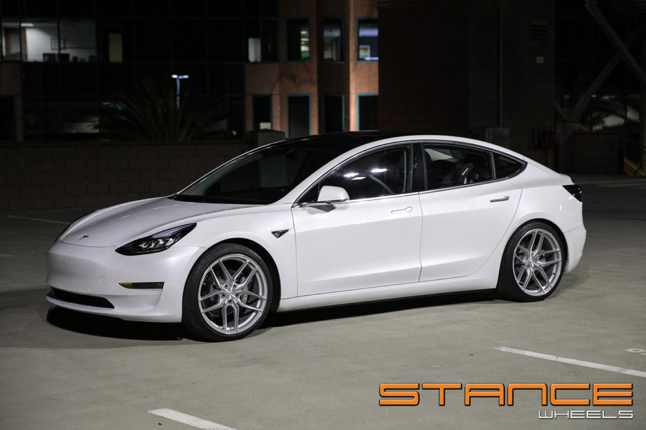 Tesla Model3 Sf03 Stance Wheels