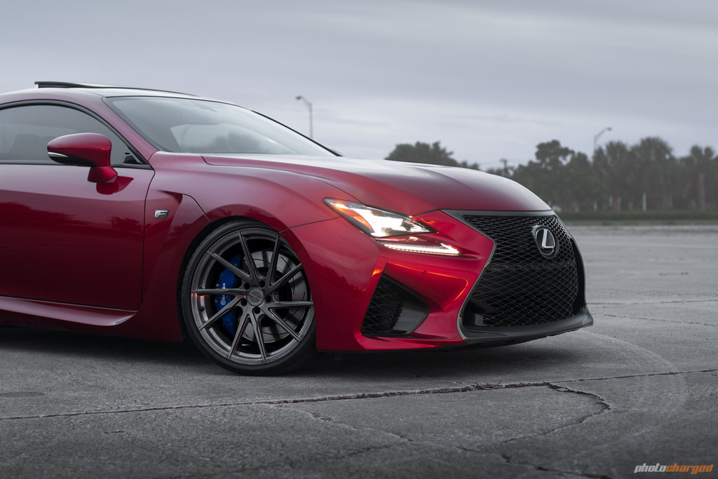 Lexus RC F | SF01 Brush Titanium