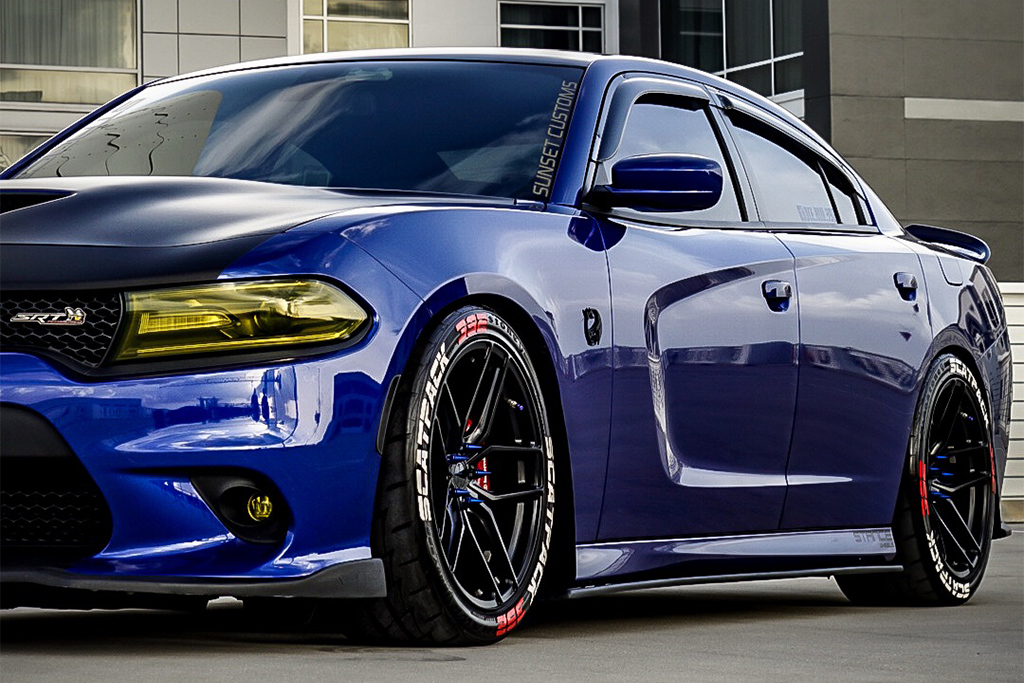 Dodge Charger | SF03 Satin Black