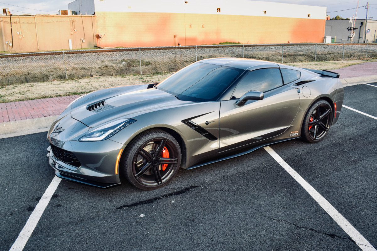 Chevy Corvette C7 | SF08 Gloss Black
