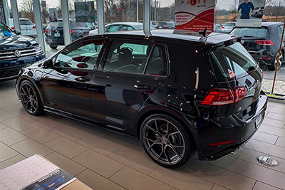 VW Golf R | SF07 Brushed Dual Gunmetal