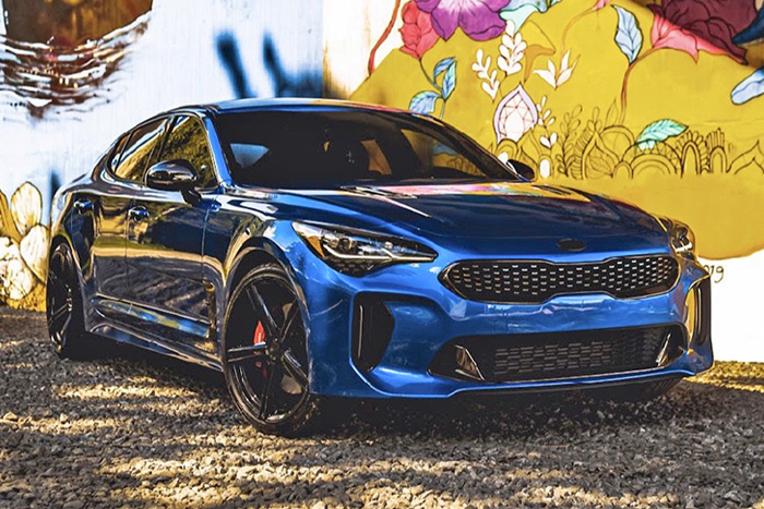 Kia Stinger GT | SF08 Gloss Black