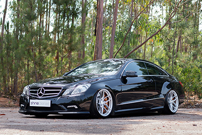 Mercedes Benz E550 Coupe | SF03 Brushed Silver