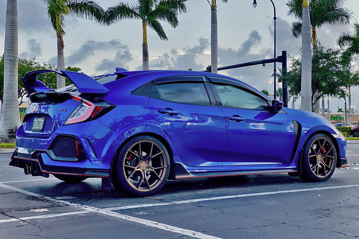 Civic Type R | SF07 Satin Bronze