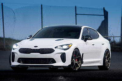 Kia Stinger GT | SF07 Brushed Dual Bronze