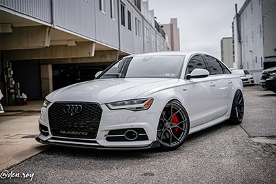 Audi A6 3.0T | SF07 Brushed Dual Gunmetal