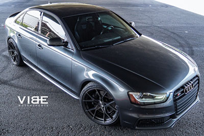 Audi S4 | SF07 Brushed Dual Gunmetal
