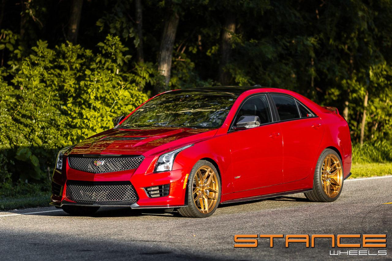 Cadillac ATS V | SF03 – Stance Wheels