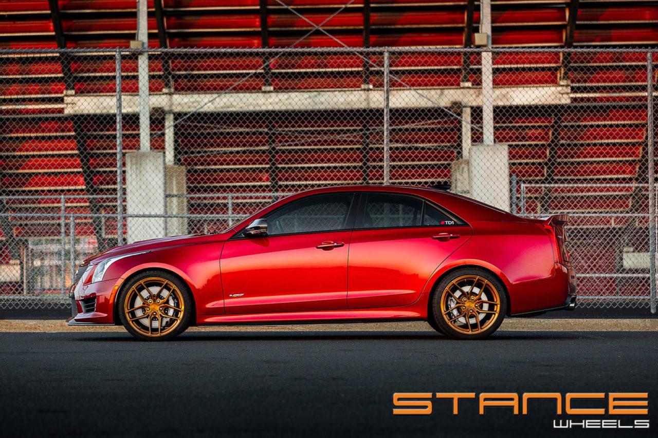 Cadillac ATS V   SF03 – Stance Wheels